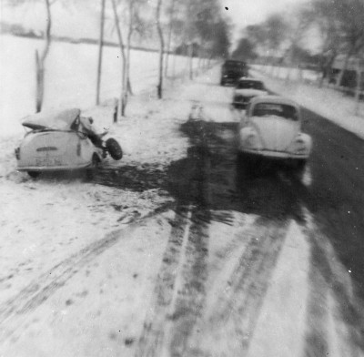 Auto-ongeluik bij Sulingen in Duitsland