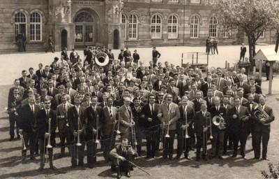 1ste reunie na het klein verlof 1966