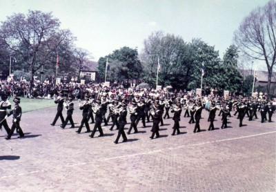 Optreden 11 mei 1964 voor 150 jaar Huzaren van Sytzama 1-1