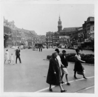 Marktplein in Mons