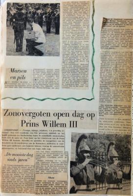 Zonovergoten dag op Prins Willem III