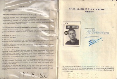 43-11-11 Militair paspoort