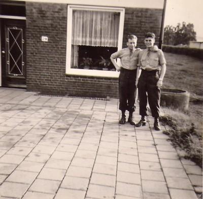 64-05-18 Bezoek bij Eddie Schroeders in Heerlen