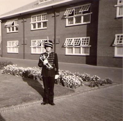 64 Kazerne Den Haag 1964 Taptoe Delft