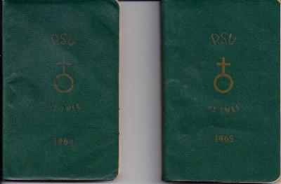 65-65 Agenda,s 1964-1965