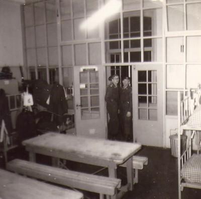 Onze kamer op de Willem III kazerne