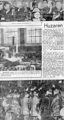 Huwelijk Wmr Kooijmans met trompetters 18 feb 1965 02