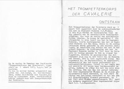 TROMPETTERCORPS DER CAVALERIE BOEKJE 02
