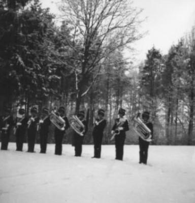 Kerst 1964 Ziekenhuis Seedorf