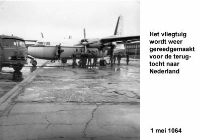 64-05-01 9 Het vliegtuig wordt weer gereed gemaakt voor Holland-a