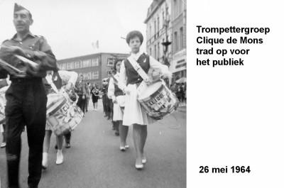 64-05-26 8 Trompettergroep Clique de Mons 1-a