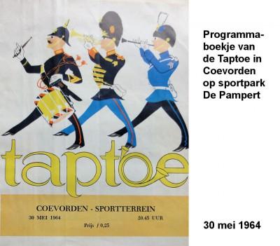 64-05-30 1 Programmaboekje Taptoe Coevorden-a