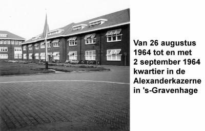64-08-26 tot 64-09-02 Kwartier in Alexander Kazerne in Den Haag-a