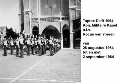 64-08-26 tot 64-09-02 Taptoe Delft. KMK-a