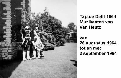 64-08-26 tot 64-09-02 Taptoe Delft muzikanten Van Heutsz-a