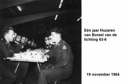 64-11-19 Een jaar Huzaren van Boreel lichting 63-6-a