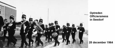 64-12-25 Optreden Officiersmess in Seedorf2-a