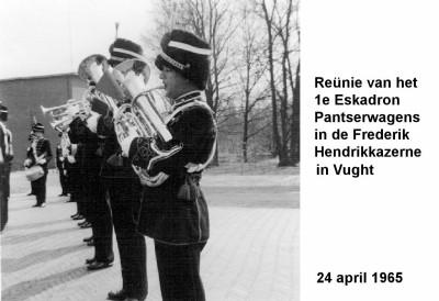 65-04-24 Reunie van het 1e Esk Panserwagens in de Frederik Hendrikkazerne in Vught-a