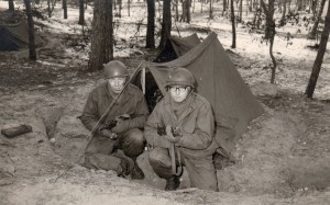 In tent op bivak 1963 2