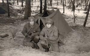 In tent op bivak 1963 2