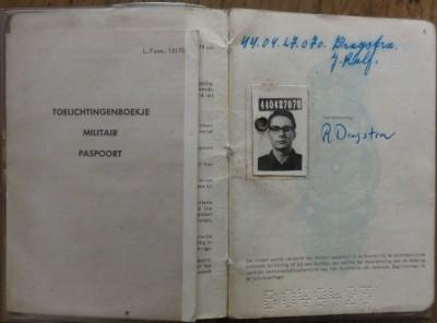 relikwieen 08 militair paspoort